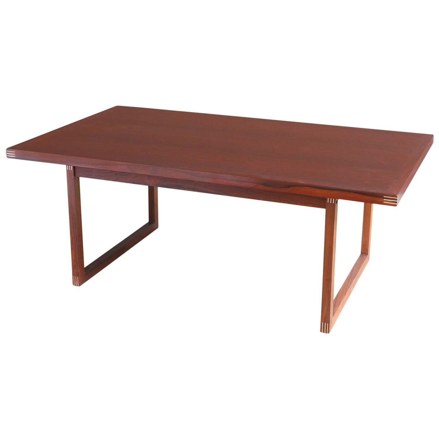 Rosewood Coffee Table by Rud Thygesen for Heltborg M¸bler at 1stdibs