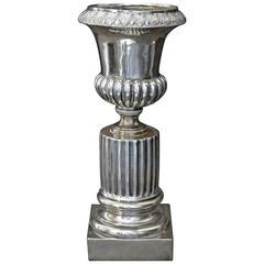 Italian Neoclassical Silver Vase