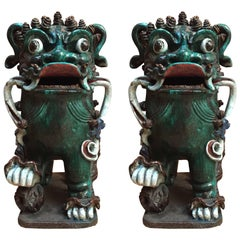 Two Foo Dogs