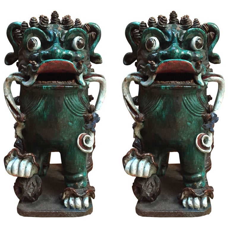 Two Foo Dogs For Sale