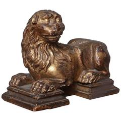 Sculpture of Recumbent Lion