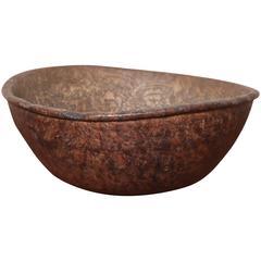 18th Century North American Burl Bowl