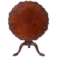 18th Century Padouk Tea Table