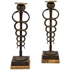 Pair of Candlesticks, France, ca.1820
