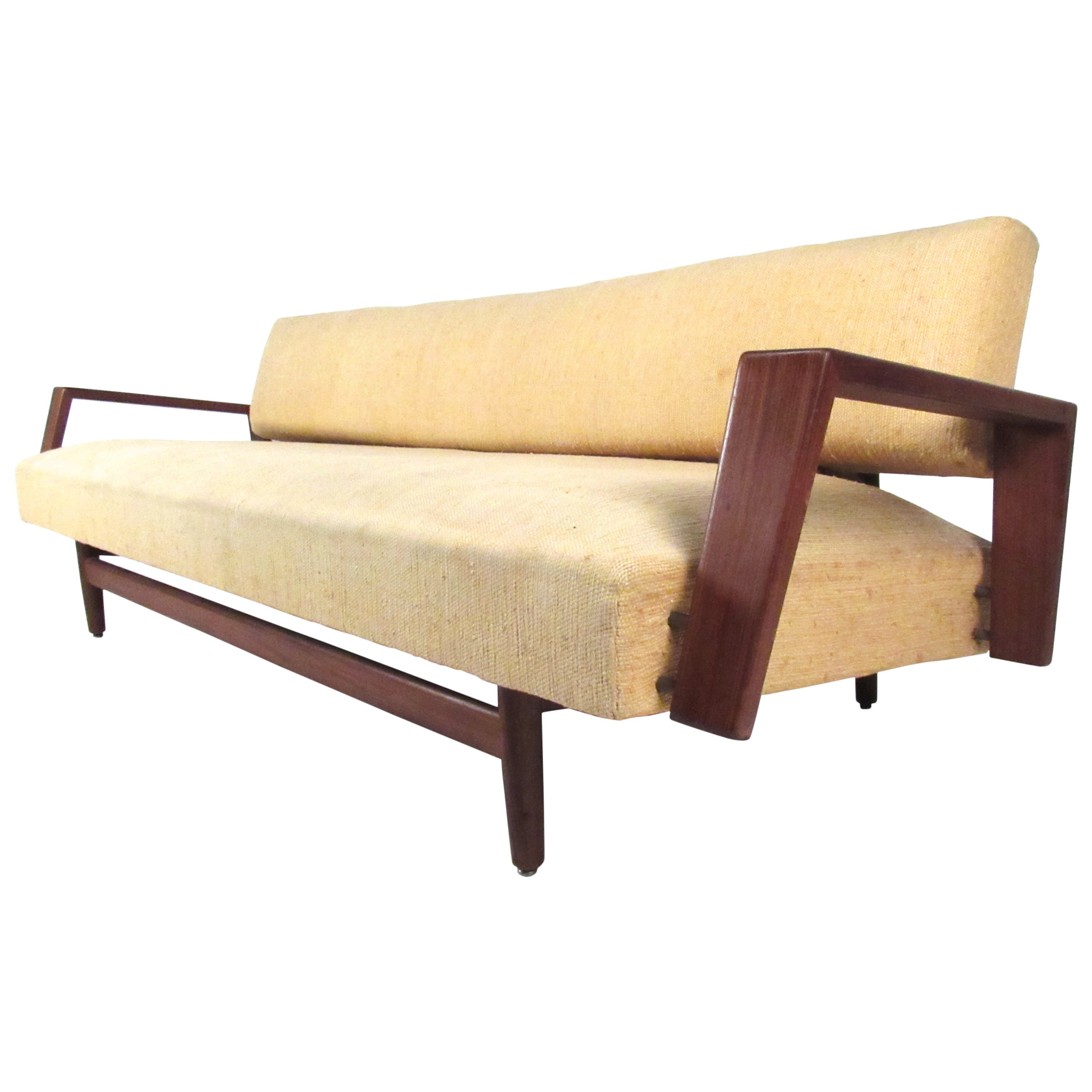 Vintage Sofa or Daybed in the Style of Arne Wahl