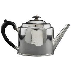 Antique Sterling Silver Tea Pot by Hester Bateman