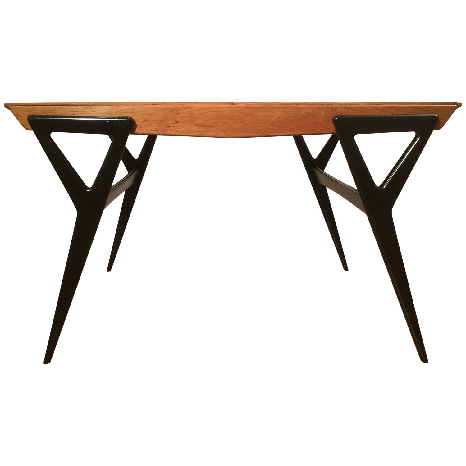 louis paolozzi french dining table at 1stdibs