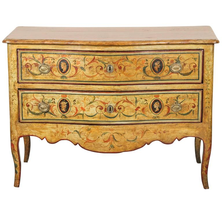 Early 19th Century Italian Two-Drawer Commode