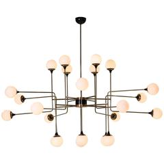 Style of Stilnovo Globo Chandelier, early 21st century