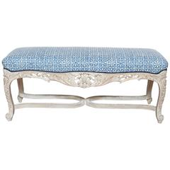 French Louis XV Style Bench