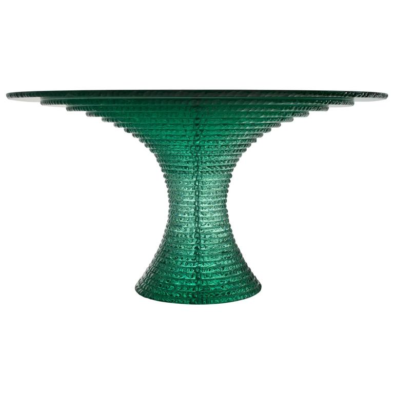 Emerald Table Layered Float Glass Table with Hammer  : 4244613l from www.1stdibs.com size 768 x 768 jpeg 29kB