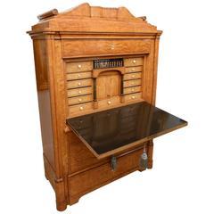 Superb Museum Quality 19th Century Biedermeier Secretaire a Abattant