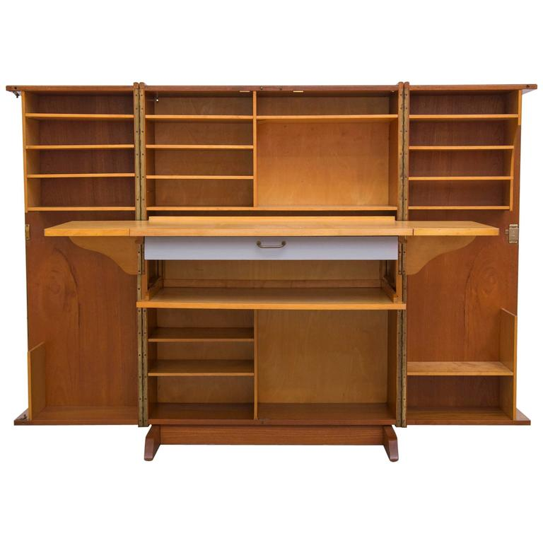 Mummenthaler And Meier Quot Magic Box Quot Folding Desk Cabinet At