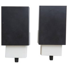 Pair of Black Anvia Wall Sconces