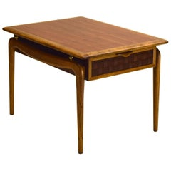 Walnut and Oak End Table by Lane Altavista