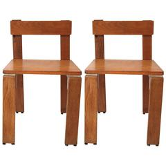 Georges Candilis and Anja Blomstedt, Pair of Chairs