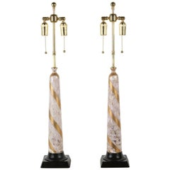 Pair of Elegant Ceramic Table Lamps