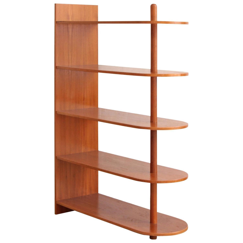 Danish Teak Bookcase Freestanding Shelves For Sale At 1stdibs