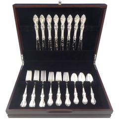 Queen Elizabeth I by Towle Sterling Silver Flatware Set for Eight Service