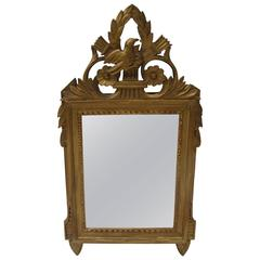 Small French Gilt Mirror