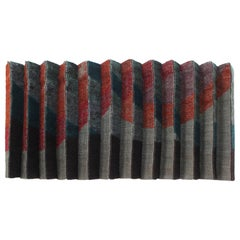 Pleated Textile Wall Art