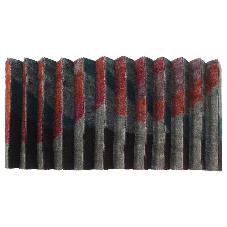 Pleated Textile Wall Art For Sale