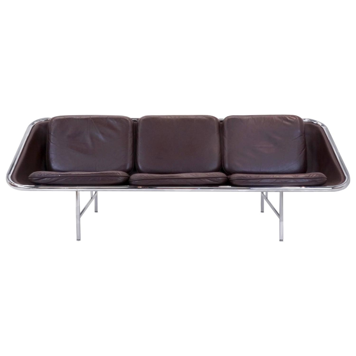 George Nelson Leather Sling Sofa For Herman Miller At 1stdibs