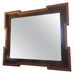 1940s Large Wall Mirror
