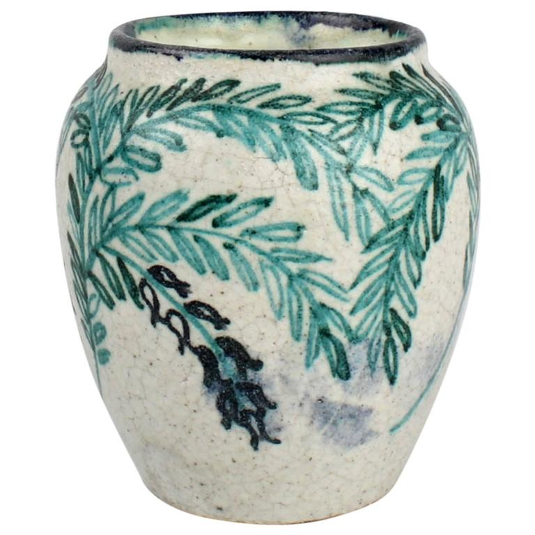 Art deco pottery vase by max laeuger for tonwerke kandern - Branche deco vase ...