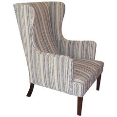 1950s Scandinavian Wingback Chair