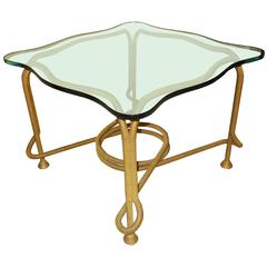 French Beaded Rope Table