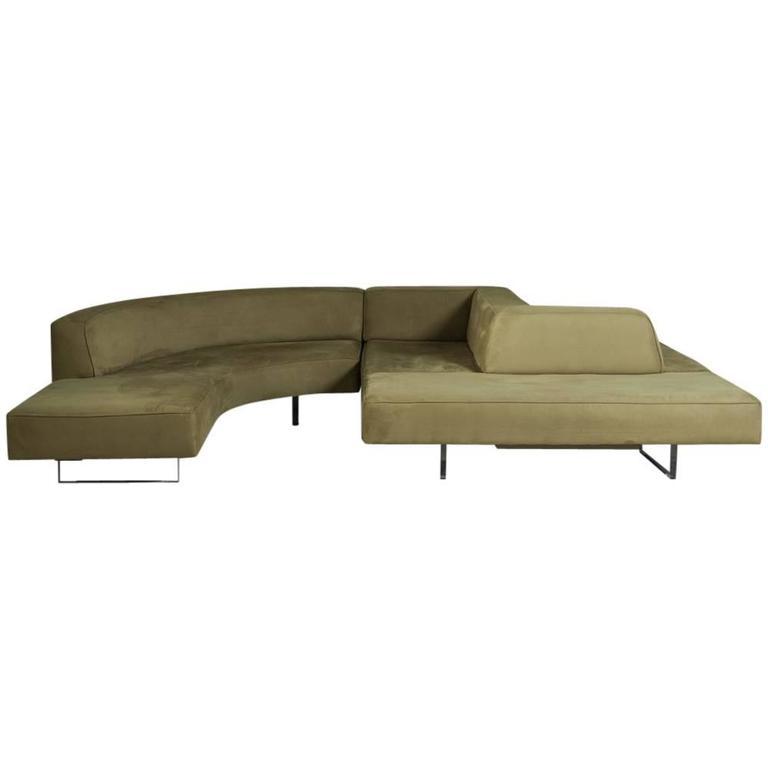 Sensational Vladimir Kagan Omnibus Series Sectional Sofa, 1970s