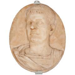 Medallion, Oval Marble Medallion