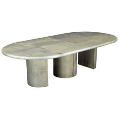 Dining Table by Aldo Tura, Italy 1970's