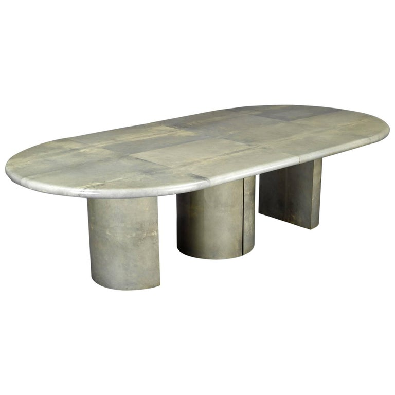 Dining Table by Aldo Tura, Italy 1970's For Sale