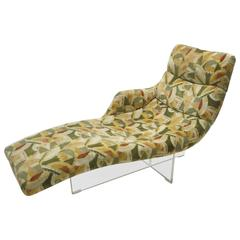 Erica Chaise Longue Designed by Vladimir Kagan in 1969, Made in USA