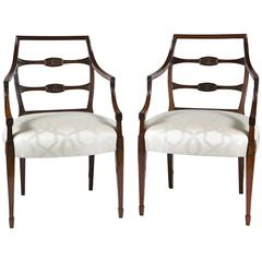 Fabulous Pair of George III Armchairs