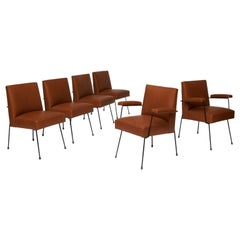 Milo Baughman Dining Chairs for Pacific Iron