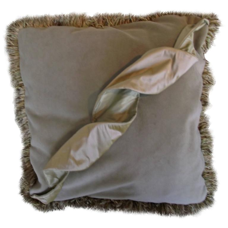 "Throw Pillow / Unusual ""Squiggle"" Pillow"