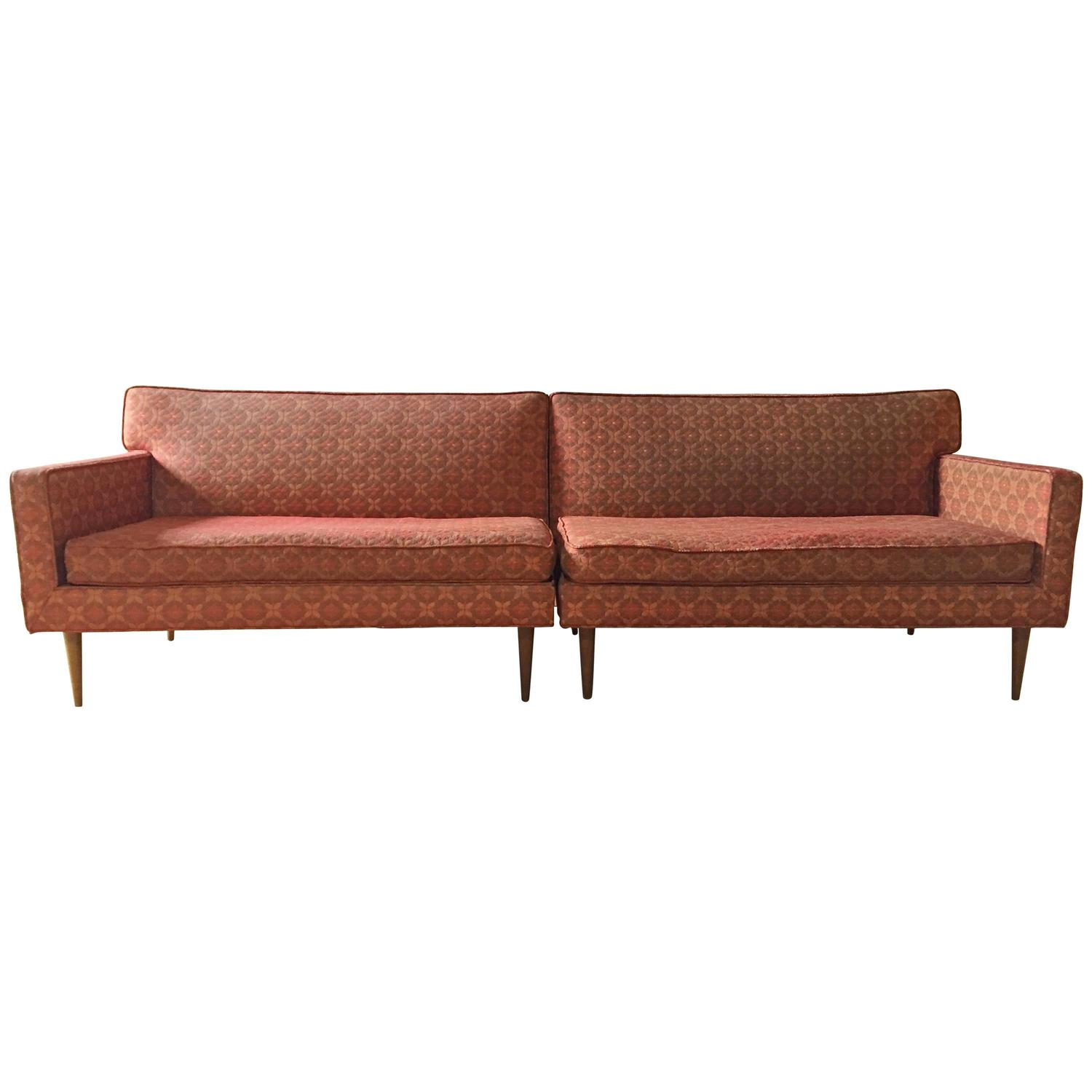 Vintage Mid Century Sectional Sofa attributed to Paul McCobb at