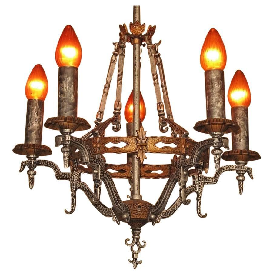 Spanish Revival Ceiling Fixture 1920s For Sale At 1stdibs