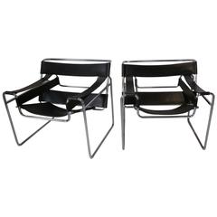Marcel Breuer Styled Wassily Chairs