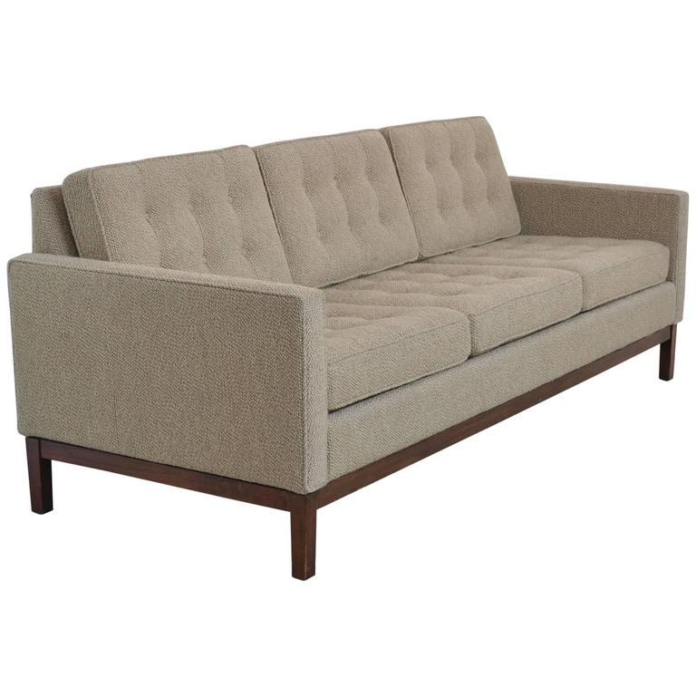 Florence Knoll Style Sofa By Steelcase At 1stdibs