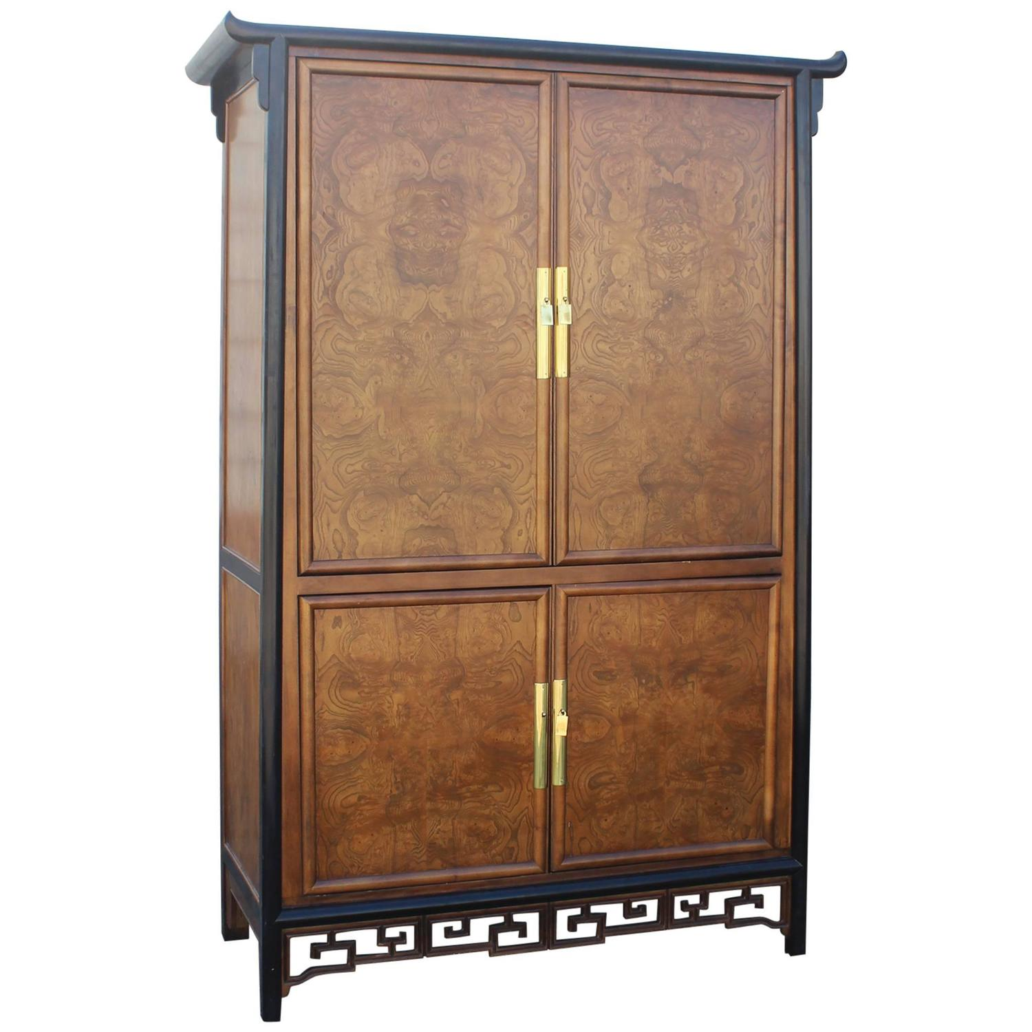 Century Furniture Chin Hua Style Entertainment Armoire Cabinet