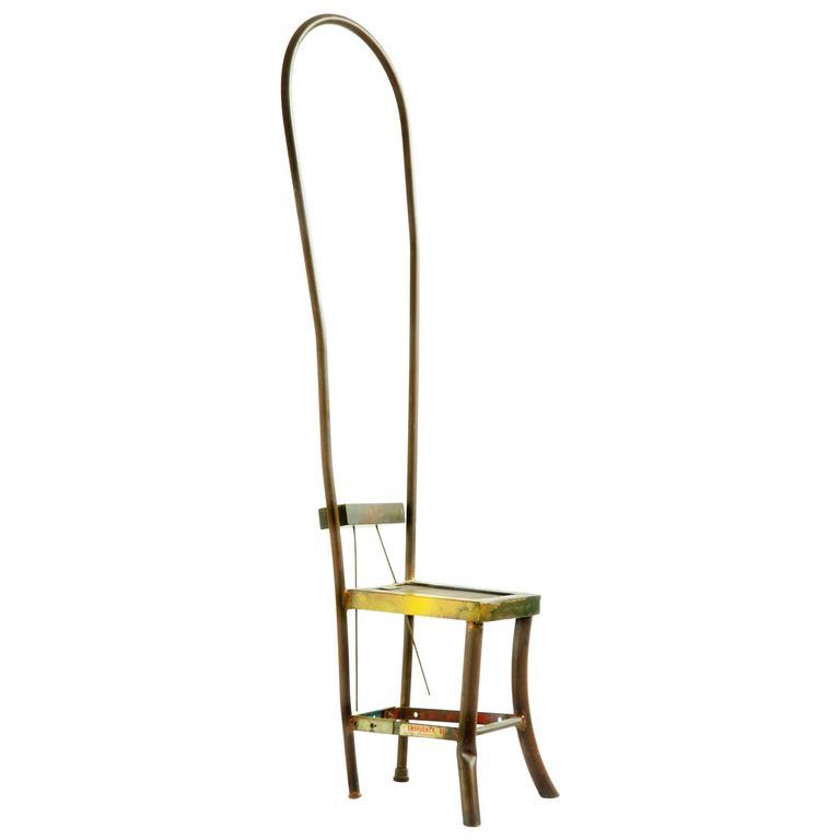 Sculptural Chair by Gordon Chandler