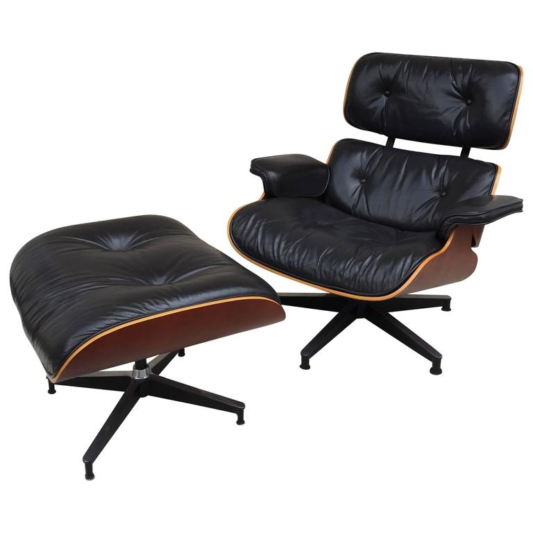 Charles Eames Lounge Chair and Ottoman for Herman Miller