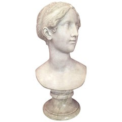 Marble Head depicting Saffo