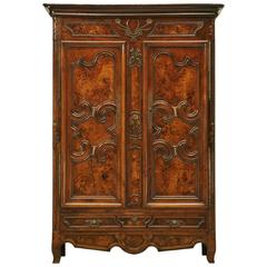 French Louis XV Armoire, circa 1700s