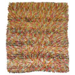 Vintage Tulu Shag Rug