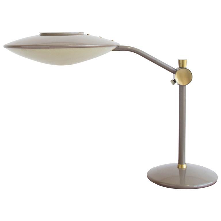 Dazor Model 2008 Saucer Desk Lamp For